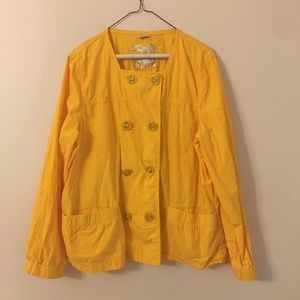Michael Kors | Taxi Yellow Double Breasted Jacket